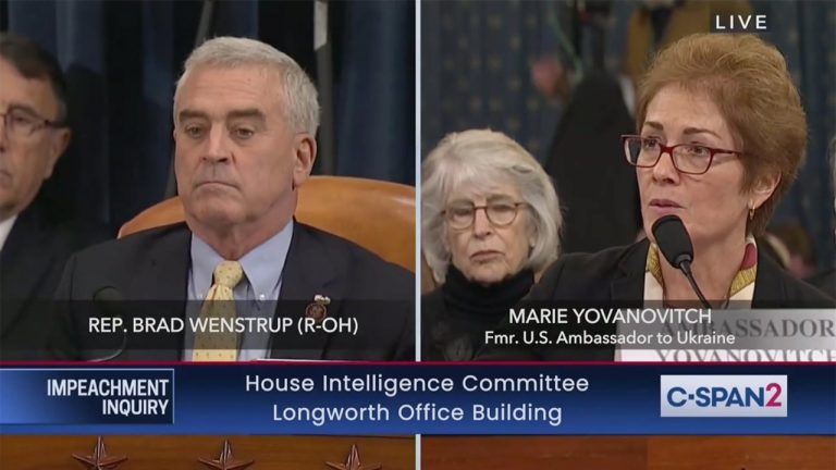 Why do Podiatrists think Brad Wenstrup helped the profession during the hearings?