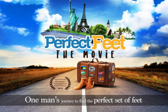 A Podiatrist starred in a movie on a quest to find the Perfect Feet