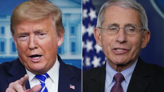 Is Trump trying to replace Fauci with a Podiatrist?