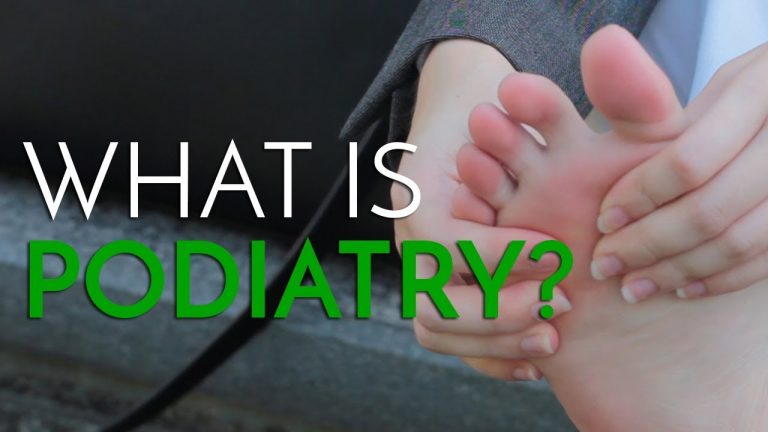 English Podiatry College did a video on What Podiatry is