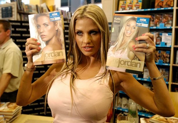 A British celebrity Katie Price lied about having bunion surgery