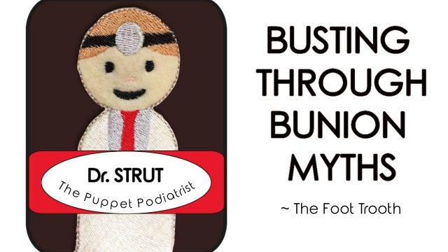 Meet Dr. Strut, the Podiatrist Puppet