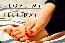 "A Podiatrist runs a blog entitled ""I love my feet"""