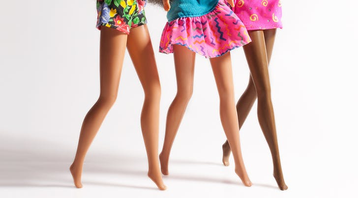 A Podiatrist responded to Barbie's feet